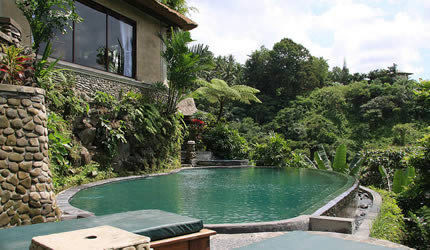 spa villa with spa bale and private pool